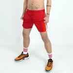 KINKY SHORTS ULTRANYLON RED