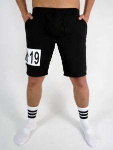 EASY ACCESS GYM SHORTS #AASSSOXX TAGGED BLACK