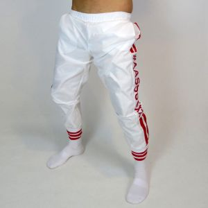 TRAINING PANTS WITH RED STRIPES
