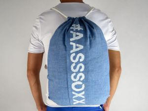 BACKPACK #AASSSOXX BASIC JEANS