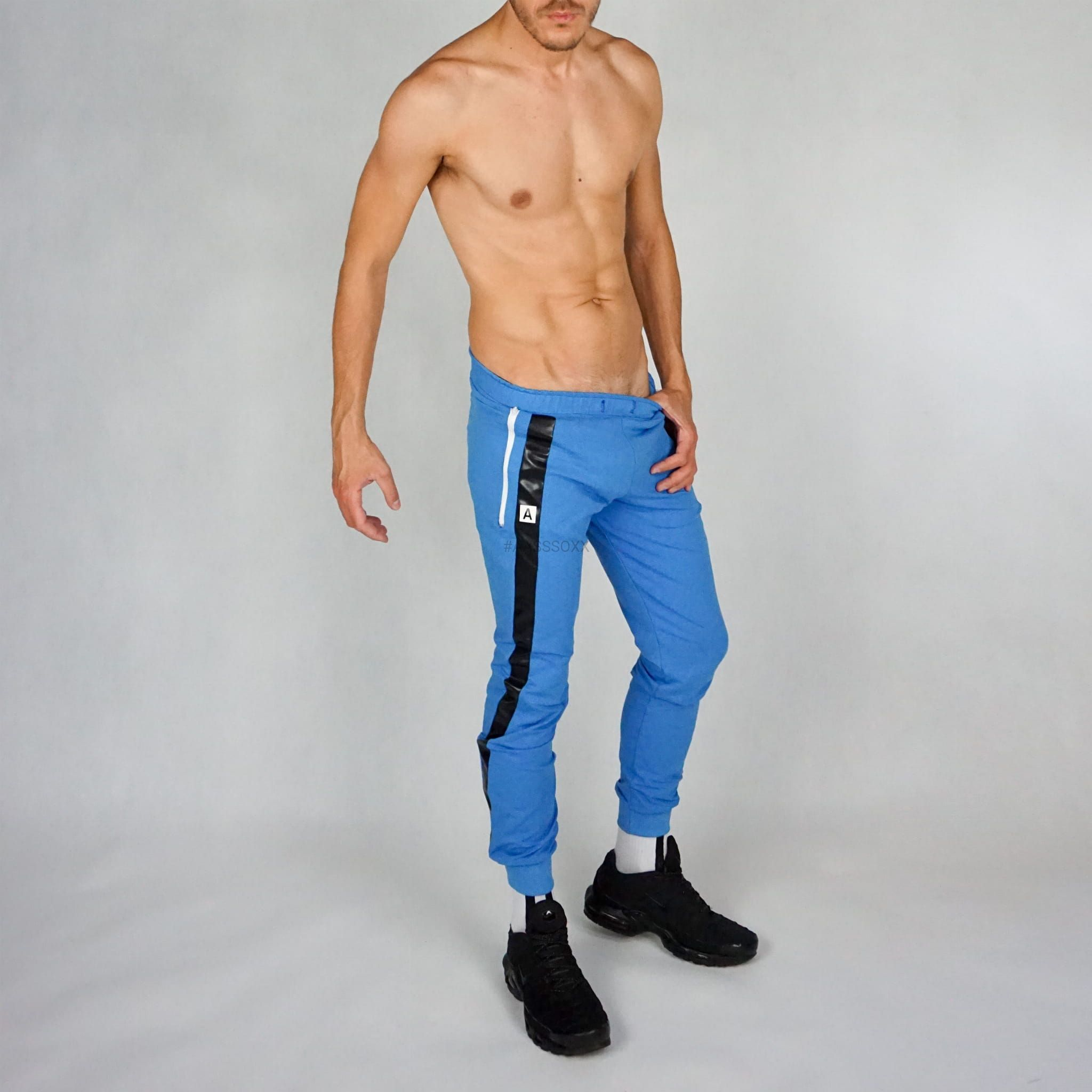 SWEATPANTS SPF (SPORT PUBLIC FUCK) BLUE