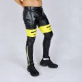 AASSEATER PVC LEATHER PANTS YELLOW5.JPG