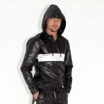 KINKY JACKET GFC BLACK SHINE