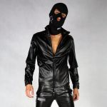 KINKY JACKET FLY-FUCKER PVC LEATHER F*CKSTAR