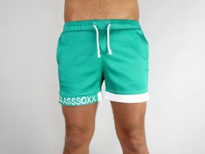 SPORT SHORTS #AASSSOXX ORIGINAL GREEN