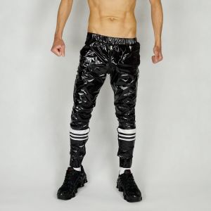 NYLON PANTS SLIM FCKN SHINY