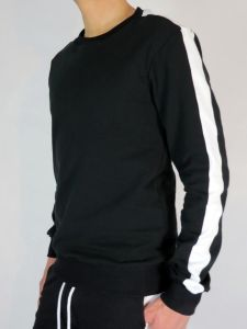 SWEATSHIRT #AASSSOXX ONE STRIPE