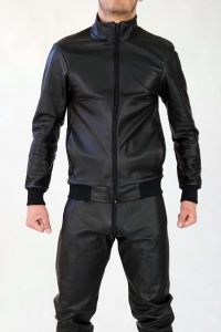 LEATHER SPORT JACKET SUPERCOCK