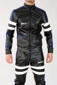 PVC LEATHER JACKET SMELLZONE