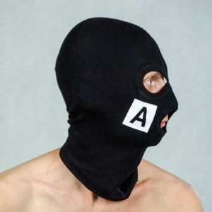 BALACLAVA NO-NAME-FUCK BLACK