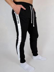 SWEATPANTS #AASSSOXX ONE STRIPE